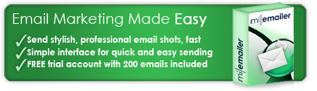 Picture showing the features of email marketing software